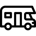 Campervan - Free transport icons